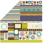 Bella Blvd - Estate Sale Collection - 12 x 12 Double Sided Paper - Bits a Bella, CLEARANCE