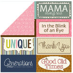 Bella Blvd - Estate Sale Collection - 12 x 12 Double Sided Paper - Billboards, CLEARANCE