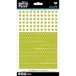 Bella Blvd - Illustrated Faith - 5 x 9 Alphabet Stickers - Mini - Olive You