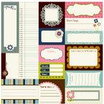 Bella Blvd - Estate Sale Collection - 12 x 12 Cardstock Stickers - Bella Blurbs, CLEARANCE