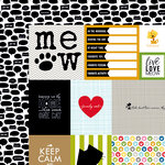 Bella Blvd - Riley Collection - 12 x 12 Double Sided Paper - Riley Daily Details