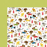 Bella Blvd - Rover Collection - 12 x 12 Double Sided Paper - Dog Show