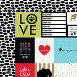 Bella Blvd - Rover Collection - 12 x 12 Double Sided Paper - Rover Daily Details