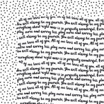Bella Blvd - Just Add Color Collection - 12 x 12 Double Sided Paper - Speak Freely