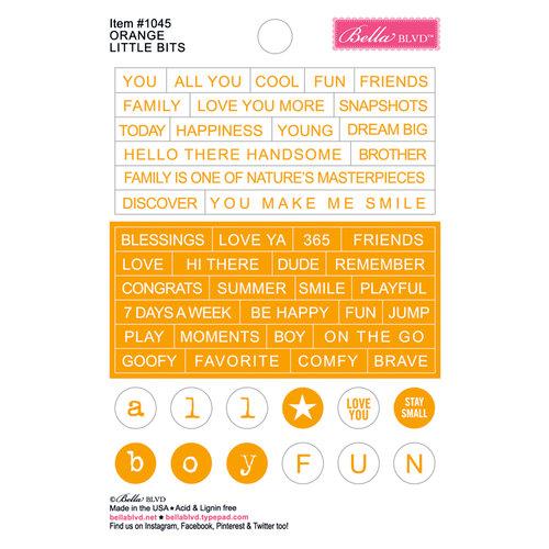 Bella Blvd - Just Add Color Collection - Little Bits - Orange