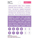 Bella Blvd - Just Add Color Collection - Little Bits - Plum