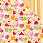 Bella Blvd - Fresh Market Collection - 12 x 12 Double Sided Paper - Tutti Fruiti