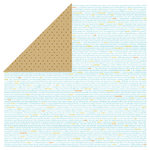 Bella Blvd - All Inclusive Collection - 12 x 12 Double Sided Paper - Bookin' on the Beach, CLEARANCE