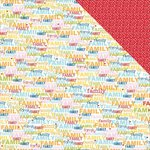 Bella Blvd - Family Frenzy Collection - 12 x 12 Double Sided Paper - A Lot Going On