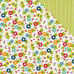 Bella Blvd - Family Frenzy Collection - 12 x 12 Double Sided Paper - Here We Grow