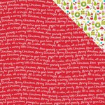 Bella Blvd - Make It Merry Collection - Christmas - 12 x 12 Double Sided Paper - Fa la la