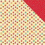 Bella Blvd - Make It Merry Collection - Christmas - 12 x 12 Double Sided Paper - Treat Exchange