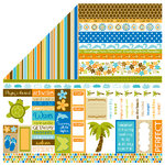 Bella Blvd - All Inclusive Collection - 12 x 12 Double Sided Paper - Bits a Bella, CLEARANCE
