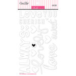 Bella Blvd - Ciao Chip - Self Adhesive Chipboard - Words - So In Love
