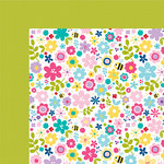 Bella Blvd - Sweet Sweet Spring Collection - 12 x 12 Double Sided Paper - Bloomin Beauties
