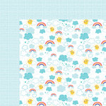 Bella Blvd - Sweet Sweet Spring Collection - 12 x 12 Double Sided Paper - Easy Breezy