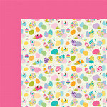 Bella Blvd - Sweet Sweet Spring Collection - 12 x 12 Double Sided Paper - To Dye For