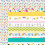 Bella Blvd - Sweet Sweet Spring Collection - 12 x 12 Double Sided Paper - Borders