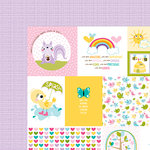 Bella Blvd - Sweet Sweet Spring Collection - 12 x 12 Double Sided Paper - Daily Details