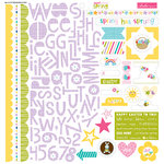 Bella Blvd - Sweet Sweet Spring Collection - 12 x 12 Cardstock Stickers - Treasures and Text