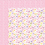 Bella Blvd - Sweet Baby Girl Collection - 12 x 12 Double Sided Paper - She Stole My Heart
