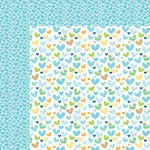 Bella Blvd - Cute Baby Boy Collection - 12 x 12 Double Sided Paper - He Stole My Heart