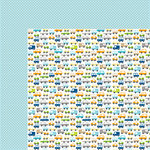 Bella Blvd - Cute Baby Boy Collection - 12 x 12 Double Sided Paper - Play with Me