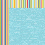 Bella Blvd - Lets Go Collection - 12 x 12 Double Sided Paper - Perfect Weather