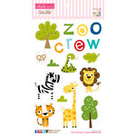Bella Blvd - The Zoo Crew Collection - Ciao Chip - Self Adhesive Chipboard - Icons