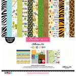 Bella Blvd - The Zoo Crew Collection - 12 x 12 Collection Kit