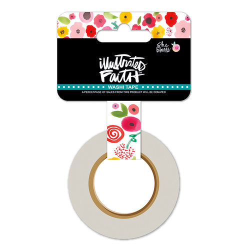 Bella Blvd - Illustrated Faith - She Blooms Collection - Washi Tape - Bloom