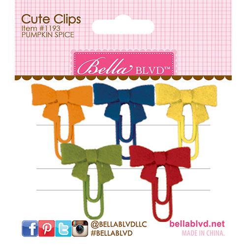 Bella Blvd - Cute Clips - Pumpkin Spice