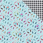 Bella Blvd - Addison Collection - 12 x 12 Double Sided Paper - Playlist