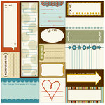 Bella Blvd - Man of the House Collection - 12 x 12 Cardstock Stickers - Bella Blurbs, CLEARANCE