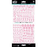 Bella Blvd - Illustrated Faith - Cardstock Stickers - Alphabet - Homespun - Bless Her Heart