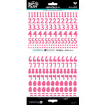 Bella Blvd - Illustrated Faith - Cardstock Stickers - Numbers - Homespun - One in a Melon