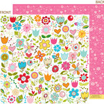 Bella Blvd - Sunny Happy Skies Collection - 12 x 12 Double Sided Paper - Sugar Patch, CLEARANCE