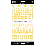 Bella Blvd - Illustrated Faith - Cardstock Stickers - Numbers - Homespun - Bananas For You