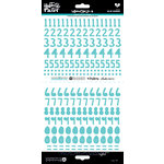 Bella Blvd - Illustrated Faith - Cardstock Stickers - Numbers - Homespun - Oh My Heavens