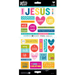 Bella Blvd - Illustrated Faith - Cardstock Stickers - His Name