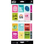 Bella Blvd - Illustrated Faith - Cardstock Stickers - Word Art