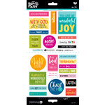 Bella Blvd - Illustrated Faith - Cardstock Stickers - Go and Tell