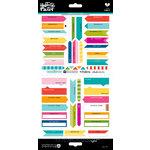 Bella Blvd - Illustrated Faith - Cardstock Stickers - Flag It