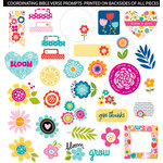 Bella Blvd - Illustrated Faith - Die Cut Cardstock Pieces - Friendship