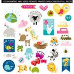 Bella Blvd - Illustrated Faith - Die Cut Cardstock Pieces - Animals