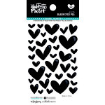 Bella Blvd - Illustrated Faith - Enamel Hearts - Black Eyed Pea