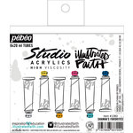 Bella Blvd - Illustrated Faith - Studio Acrylics High Viscosity Paint Set - Shanna's Favorites