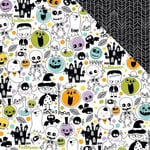 Bella Blvd - Spooktacular Collection - Halloween - 12 x 12 Double Sided Paper - Toil and Trouble