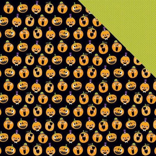 Bella Blvd - Spooktacular Collection - Halloween - 12 x 12 Double Sided Paper - Pumpkin Day