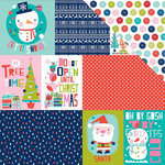 Bella Blvd - Holly Jolly Christmas Collection - 12 x 12 Double Sided Paper - Daily Details